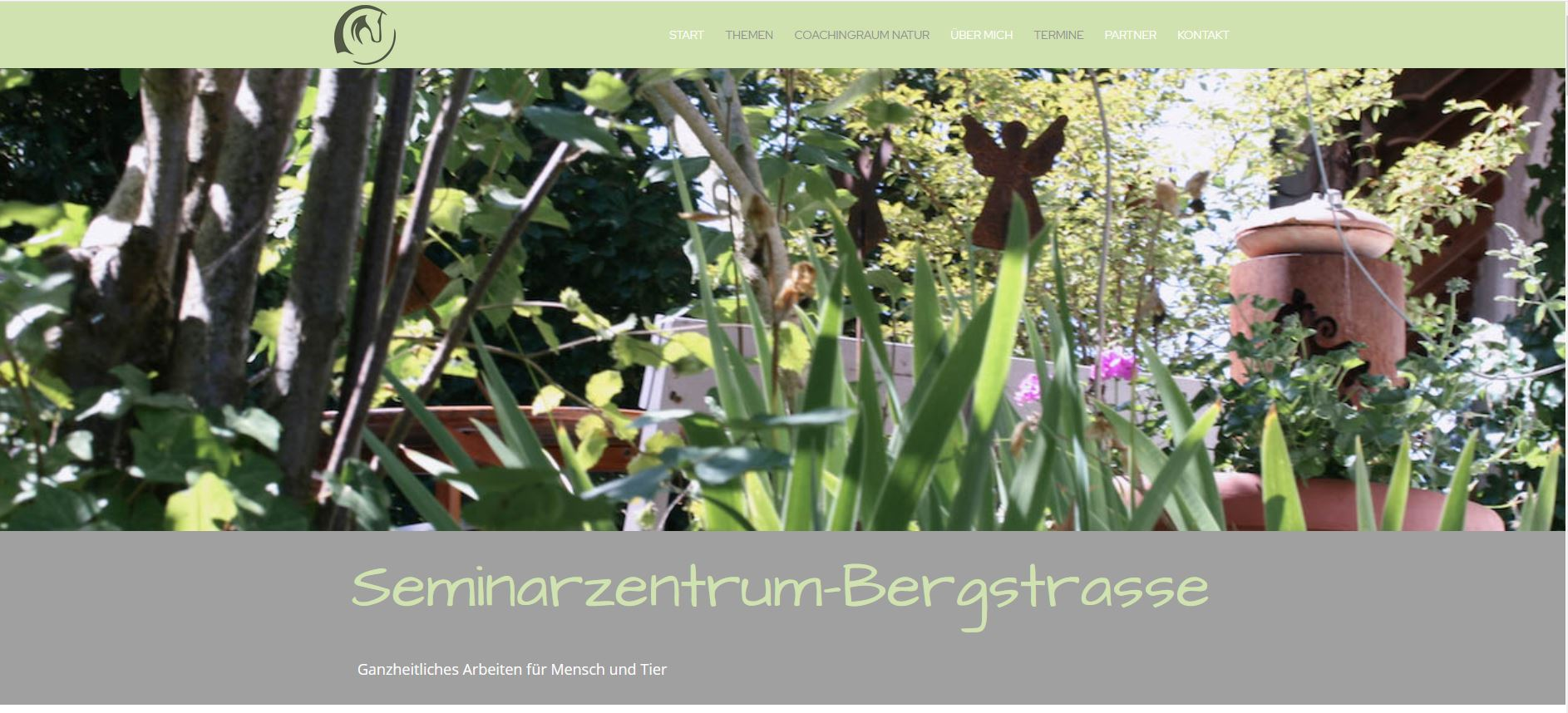 Seminarzentrum-Bergstrasse Webdesign WordPress Divi Theme