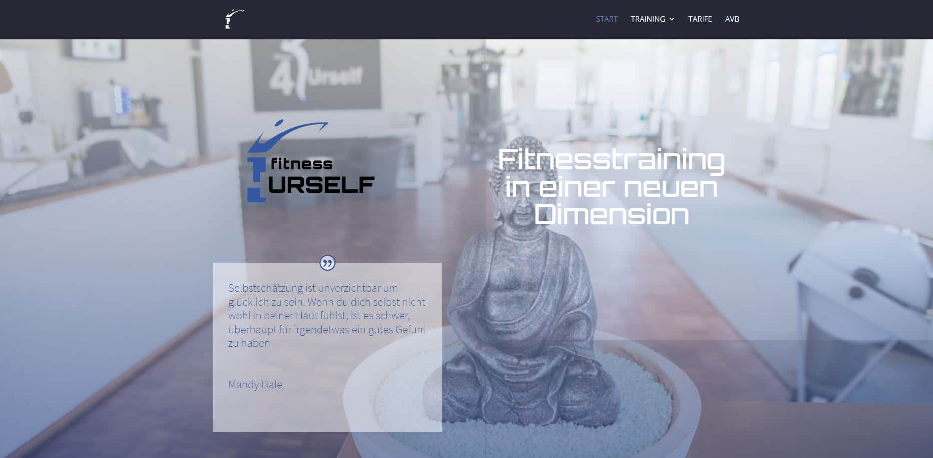 4Urself.fit Webdesign WordPress Divi Theme