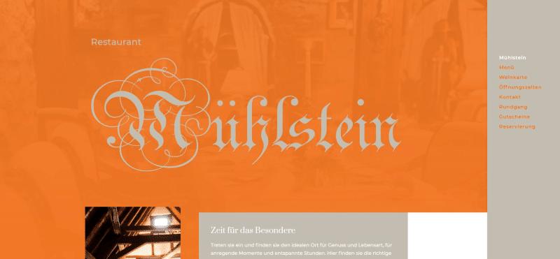 Restaurant Mühlstein Bensheim