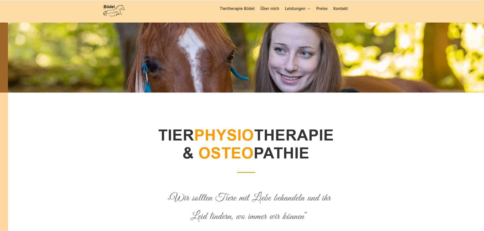 Lea Büdel Tiertherapie
